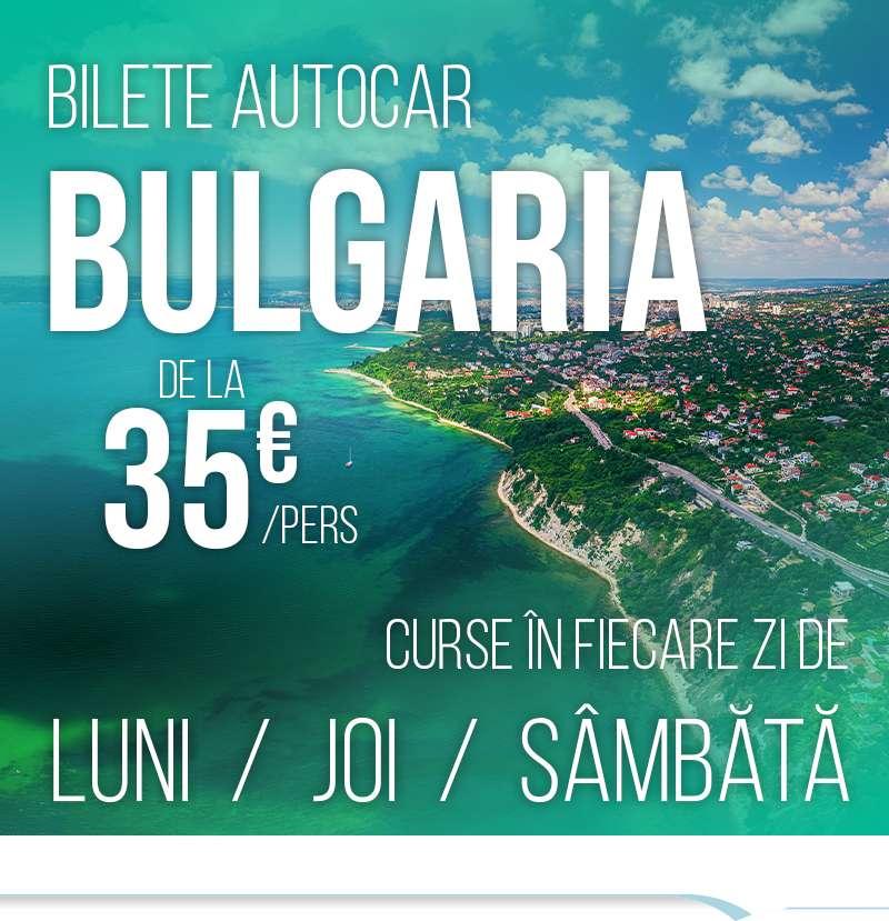 Bilete autocar Bulgaria