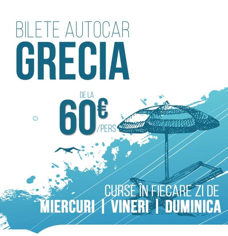 Bilete autocar Grecia Curse charter autocar